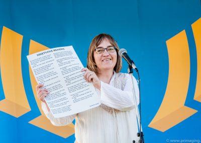 Renita Boyle~ Performing  'Ninety-Five Reasons'~ Commonwealth Games Celebration