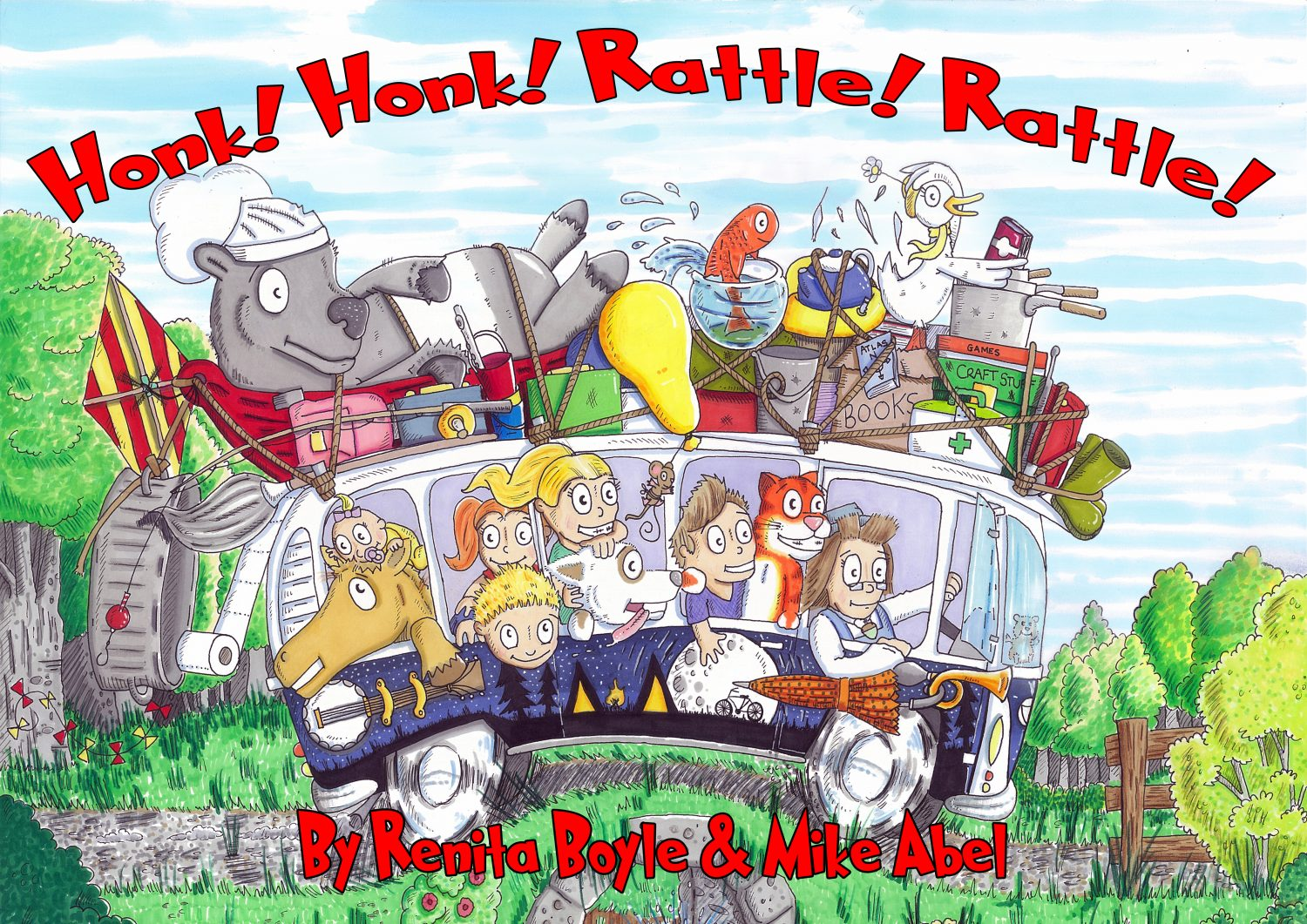 Honk! Honk! Rattle! Rattle! by Renita Boyle and Mike Able